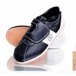 Bowling Schoen, kunstleder (zwart/wit)
