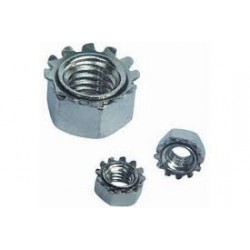 Hex Nut w/Extenal Tooth Lockwasher